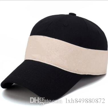 f9c224ada Summer New Brand Mens Designer Hats Adjustable Baseball Caps Luxury ...