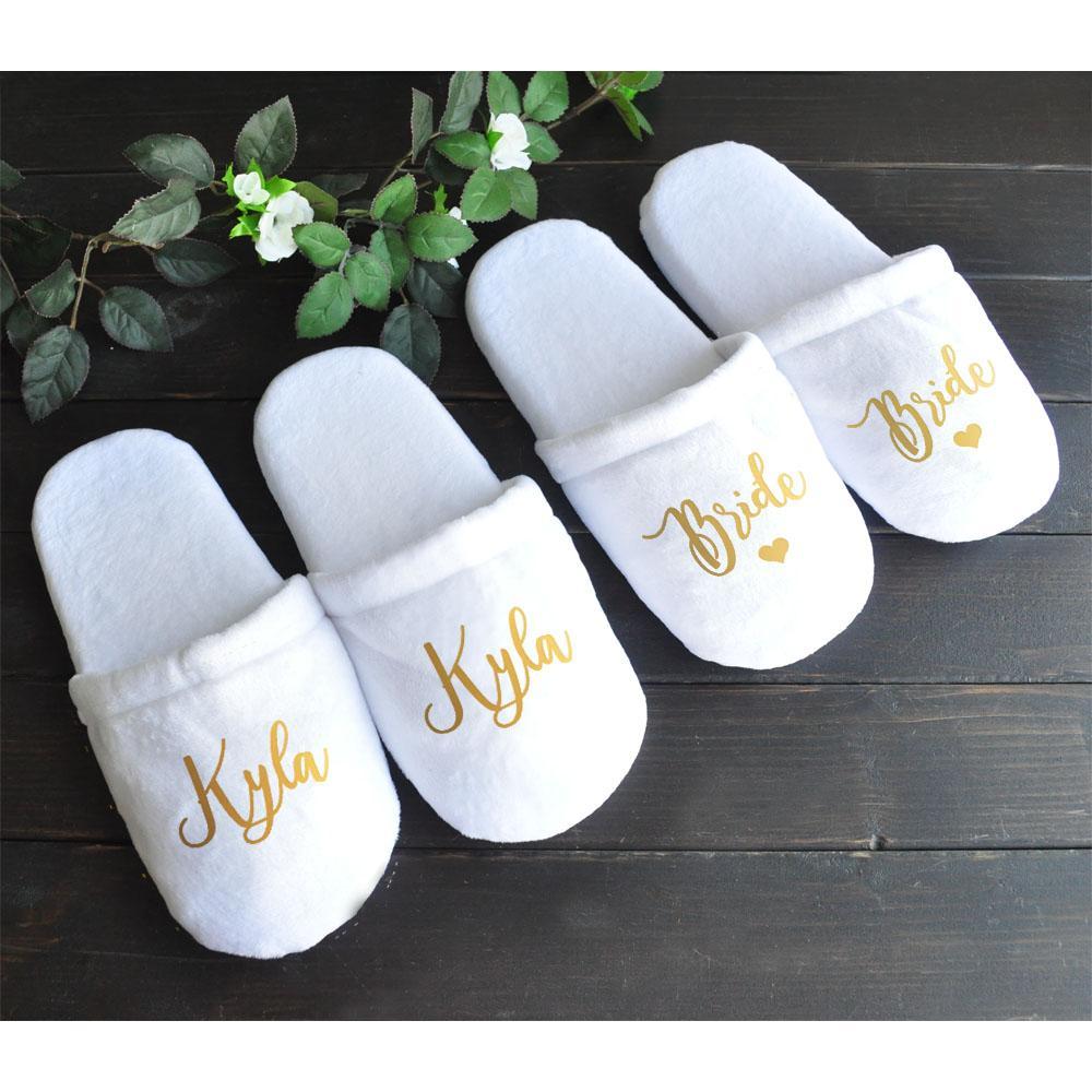 Bridesmaid Slippers 7595855e971c