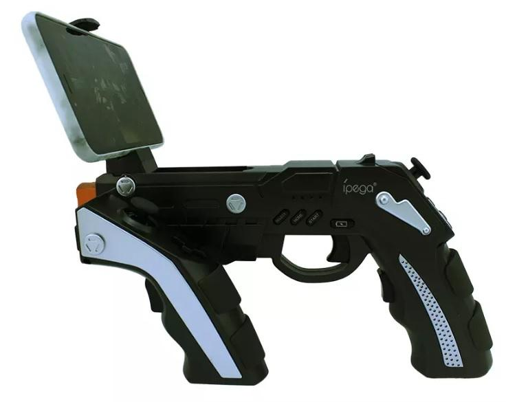 IPEGA 9057 PG-9057 Arma Estilo Sem Fio Bluetooth Joysticker Game Controller Gamepad Handset para Celular Tablet TV Box stretchable