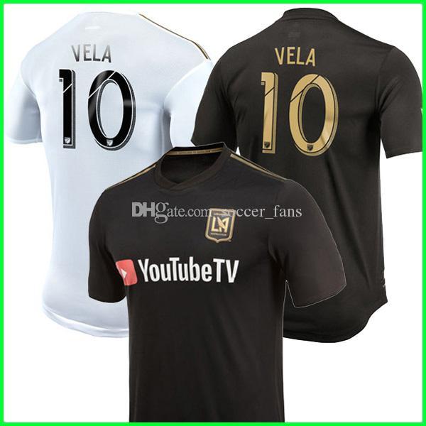 Thailand 2018 2019 Carlos Vela Los Angles FC Soccer Jerseys 18 19 ... 70e4a7bf5