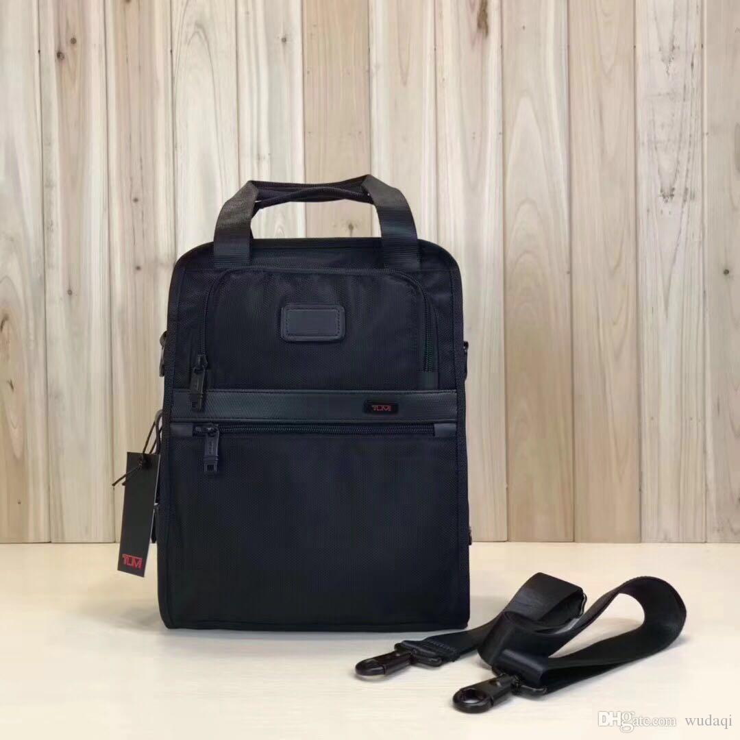 8f3bf8e749 Acquista 22117D2 New Ballistic Nylon Business Bag Da Uomo Da Uomo Casual  Wear One Shoulder Slung Canvas Bag Tumi 01 A $70.06 Dal Wudaqi | DHgate.Com
