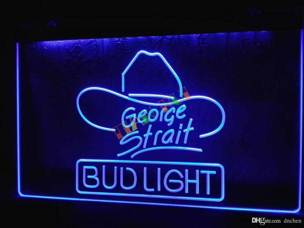 Le116 B Bud Light George Strait Bar Pub Neon Light Sign Home Decor Shop  Crafts Led Sign Led Strip 5m Orange Led Strip From Dnchen, $8.85| Dhgate.Com