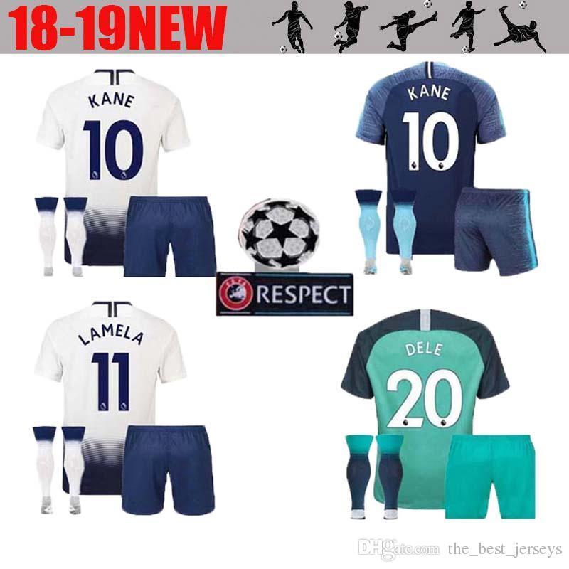 809f9741f ... new zealand 2018 2018 hot spur 10 kane jersey adult suit soccer premier  league lamela 7