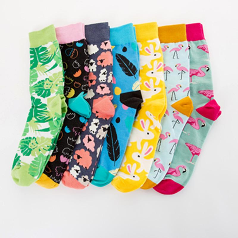 bc6958a89fc 2019 Easter Eggs Funky Colorful Cool Flamingo Socks Happy Mens Novelty  Loafer Coon Socks Funny Socks Socks Male From Ladylbdcloth