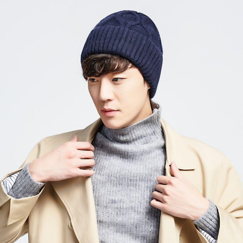 2c4c4d3e0 2018 Winter Warm Hats For Men Skullies Beanies Men Winter Knitted Hat Wool  Women Gorras Bonnet Mask Male Beanie Hats Cap KNQH02