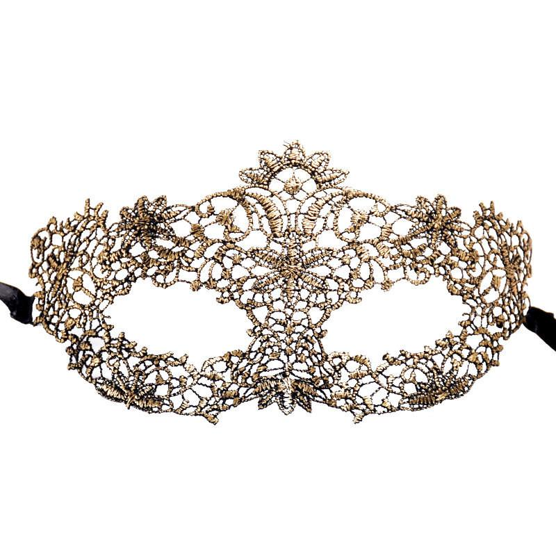 Masquerade Lace Mask Catwoman Halloween Cutout Prom Party Mask Accessories 2017 Sexy Lace Eye Mask Venetian Masks Party