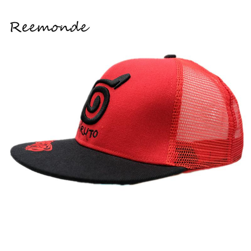 be48f1a2c54fc REEMONDE Wholesale Baseball Cap Summer Fashion Embroidery Letter Caps Girl  Hats For Women Snapback Trucker Net Cap Ventilation Big Hats Hat Stores  From ...
