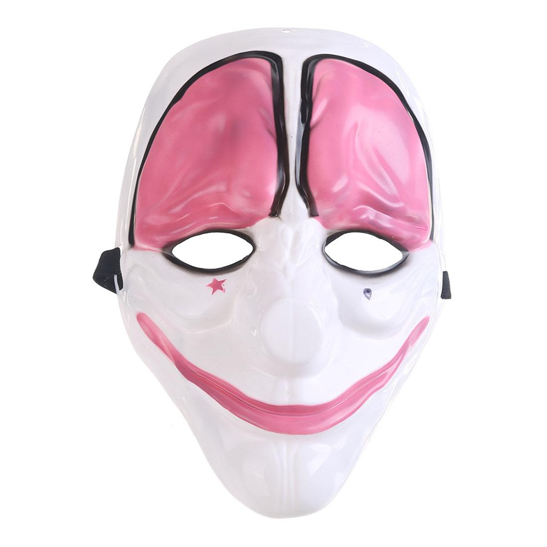 Kids Birthday Party Decorations Anonymous Party Masks Fancy Dress Adult Costume Accessory Party Cosplay Carnaval Scary Mask
