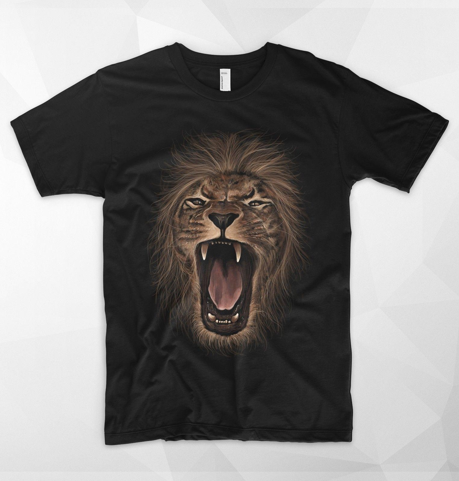 3fe261060 Lion Roar T Shirt King Of The Jungle Safari Wildlife Africa Simba Rege  Snoop Funny Unisex Gift T Shirt Designers Business Shirt From Topclassa, ...