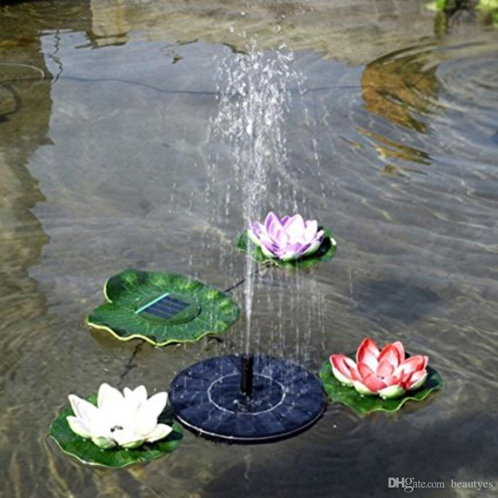 Fountain Water Floating Small Pond Garden Patio Decoration