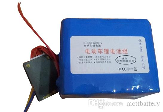 24V 40Ah Lithium iron phosphate LiFePO4 battery pack with BMS charger for electric bike bicycle scooter