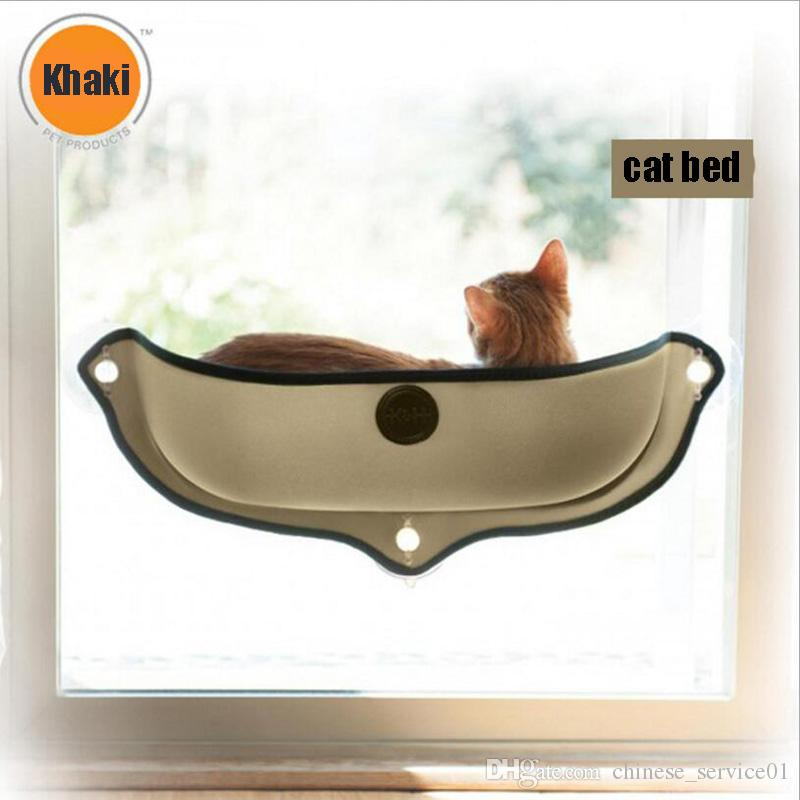 Inventive Hot Sale Cat Hammock Bed Mount Window Pod Lounger Suction Cups Warm Bed For Pet Cat Rest House Soft And Comfortable Ferret Cage Pet Products Home & Garden