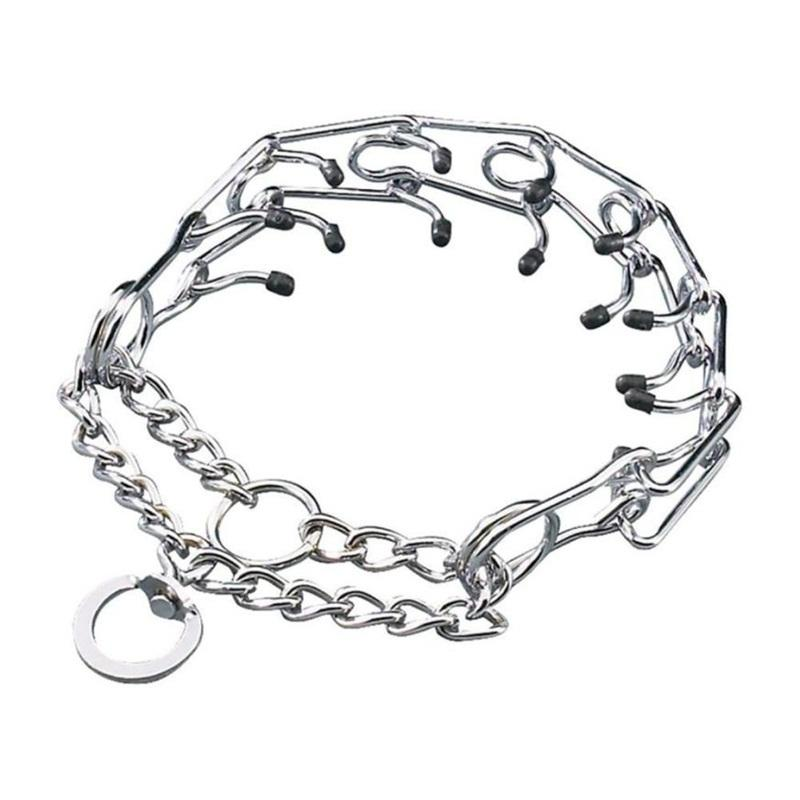 High Recommend Prong Pinch Choke Chain Training Guardian Gear Rubber
