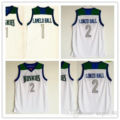 2e2a1db8ca9f High School Chino Hills Huskies Jerseys Men Cheap Basketball  2 ...