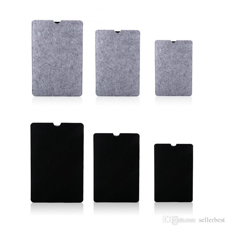 11/13/15 inç Keçe Laptop Kol Çantası Çanta Kılıfı + Mouse Pad Için Macbook Hava Pro Retina Koruyucu Kılıf Ücretsiz Nakliye