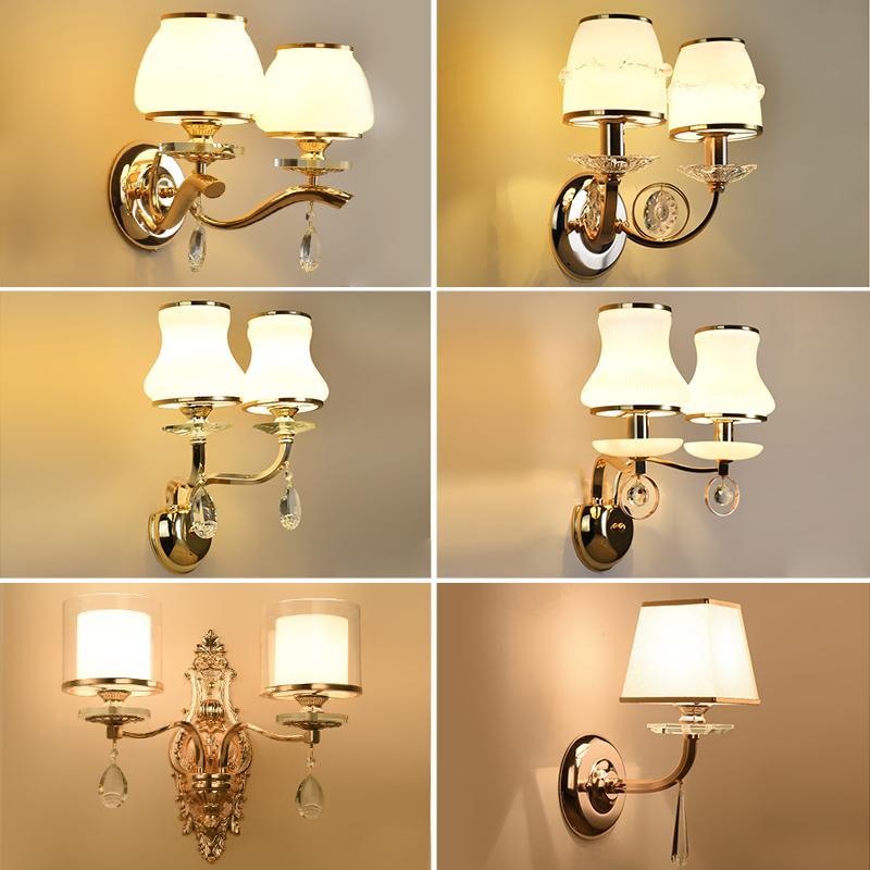 Acheter Lampe De Chevet Chambre Double Tête Salon Fond Luminaire