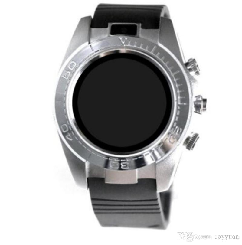 SW007 Bluetooth Smart Watch con dispositivo indossabile pedometro fotocamera Supporto Sim Card TF Smartwatch telefono Android