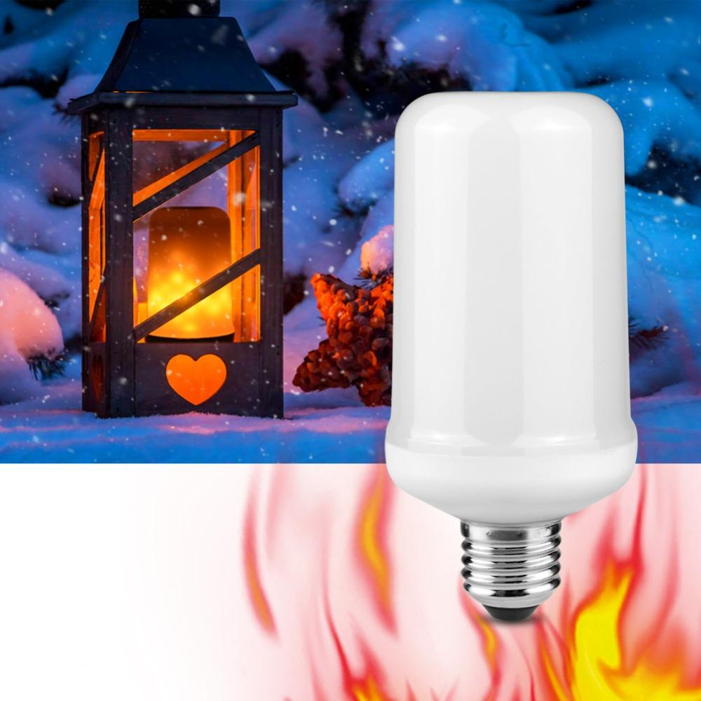 2018 creative lights fire effect halloween christmas holidays