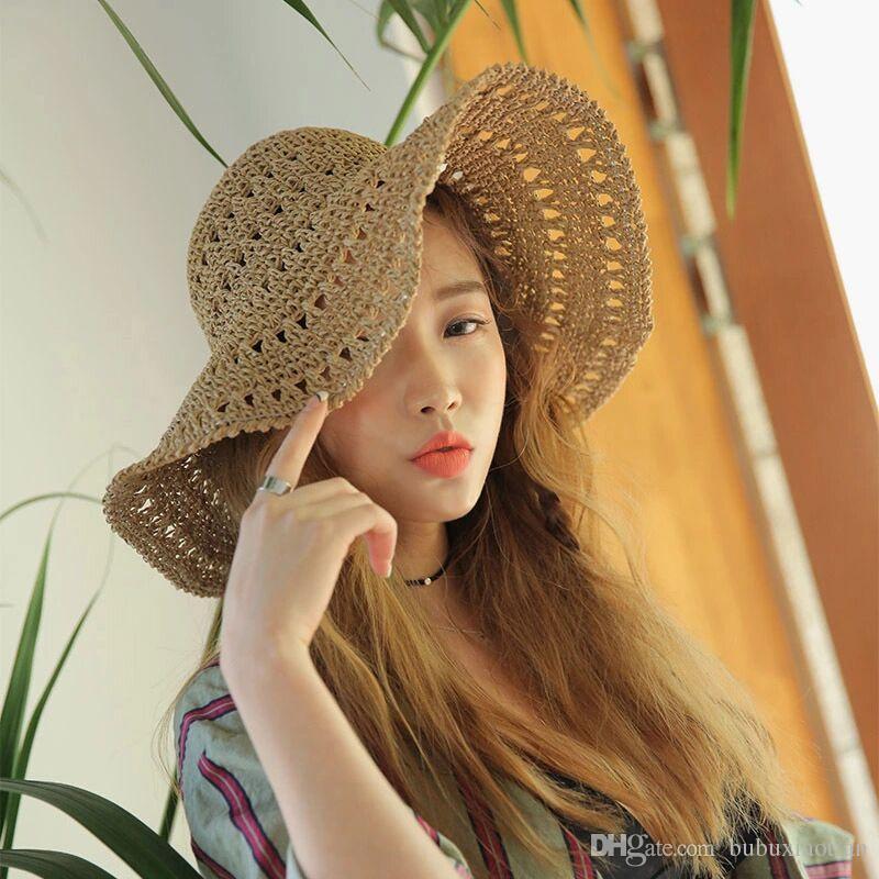 2018 Hot Sale And Fashion South Korean Version Sunshade Female Beach ... 3a26c7c0e8ea