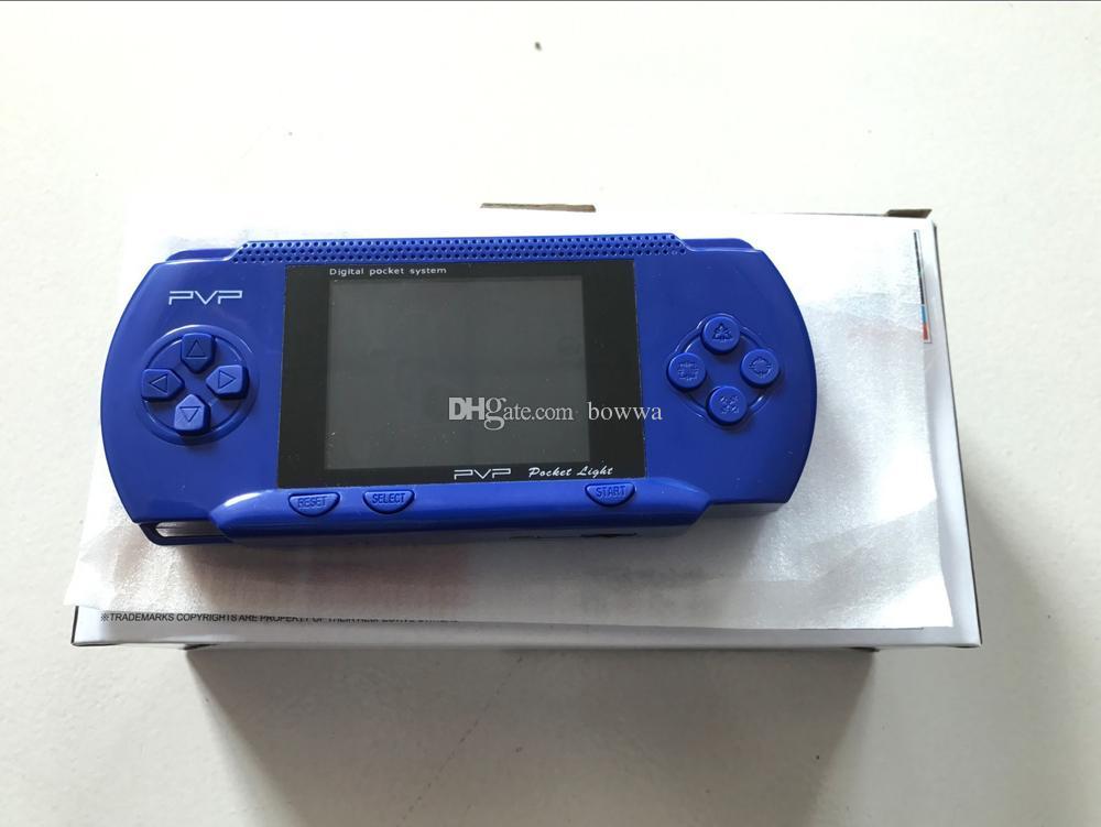 Game Player PVP Station Light 3000 8 bits Écran LCD 2,7 pouces PVP3000 Console de jeux vidéo portable Console de jeu mini portable