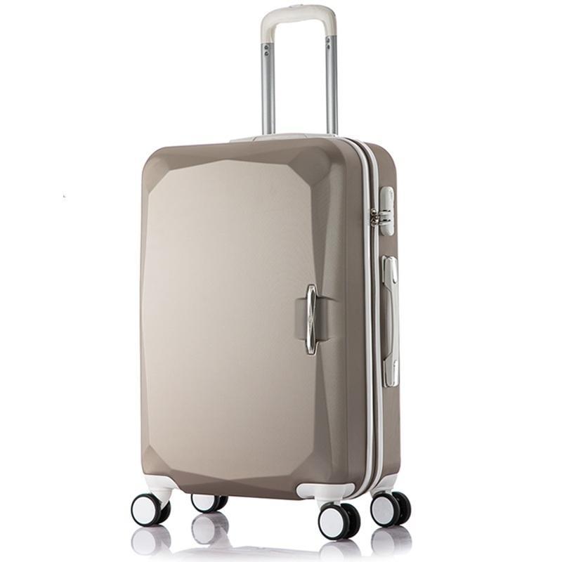 Acquista Con Ruedas Bavul Y Bolsa Viaje Set Trolley E Borsa Da Viaggio  Valiz Mala Viagem Maleta Carro Luggage Valigia 20 22 24 26 28 Pollici A   204.53 Dal ... 3de4334b5e9