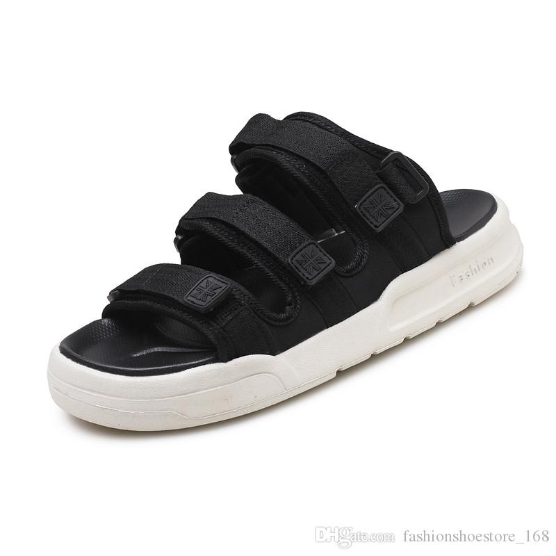 bb9aa3665 Men Sandals Summer 2018 Men Sandals Slippers Men S Breathable Outdoor Slip  On Beach Sandals Casual High Quality Sandalen Heren Man Sandal Sandal  Ladies ...