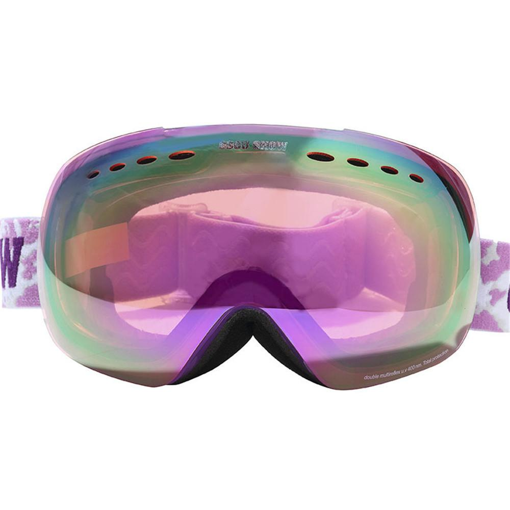 8b75666122e Gsou Snow Brand Unisex Ski Goggles Men Women Double Layers UV400 ...