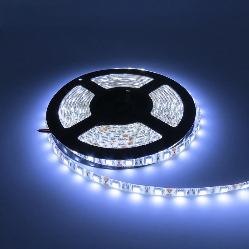 5m flexible white led strip light 5050 60ledsm dc12v waterproof 5m flexible white led strip light 5050 60ledsm dc12v waterproof ip65 coated with layer of epoxy glue or silicon led rope rgb 24v led strip blue led strip aloadofball Images
