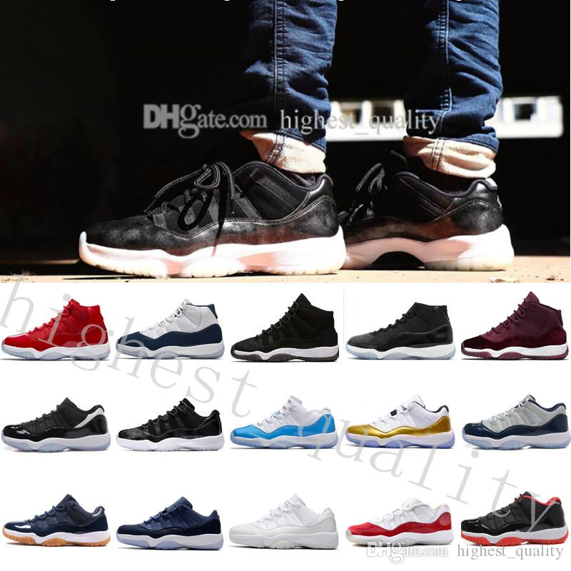 64304715af13c4 2018 High Cheap NEW 11 Space Jam Bred Gamma Blue Basketball Shoes Men Women  11s Concords 72 10 Legend Blue Cool Grey Low Barons US 5.5 13 Shoes Sneakers  ...