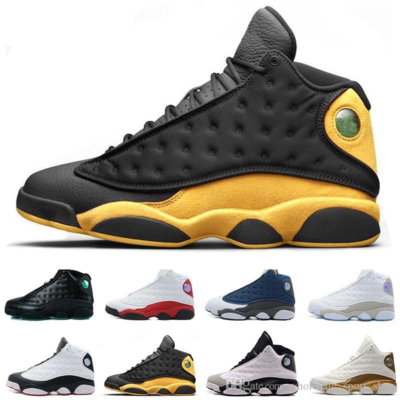 829a9574b19 13 13s Melo Class of 2002 Men Basketball Shoes Hologram Barons Grey Toe  Bred Wheat Black Cat Love Respect Men Sport Sneakers Trainers Online with  ...