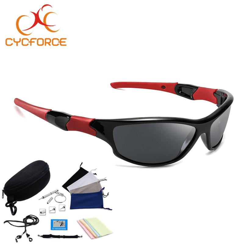 fffd01c264b85 2019 CYCFORCE Polarized Cycling Glasses Bike Outdoor Sports Bicycle  Sunglasses For Men Women Goggles Eyewear Night Vision Protection From  Gqinglang