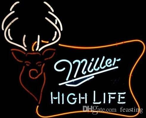 2018 custom new miller high life beer real glass neon sign light 2018 custom new miller high life beer real glass neon sign light beer bar sign send need photo 19x15 from feasting 9056 dhgate aloadofball Images