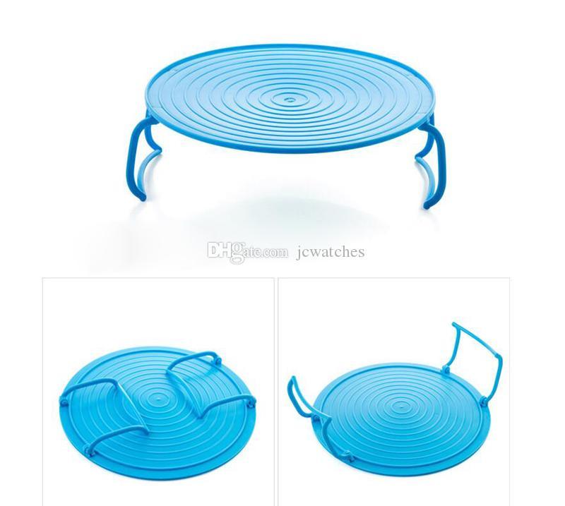 Микроволновая печь полка двойной изоляцией отопление лоток стойки чаши слоистый держатель организатор инструмент для кухни
