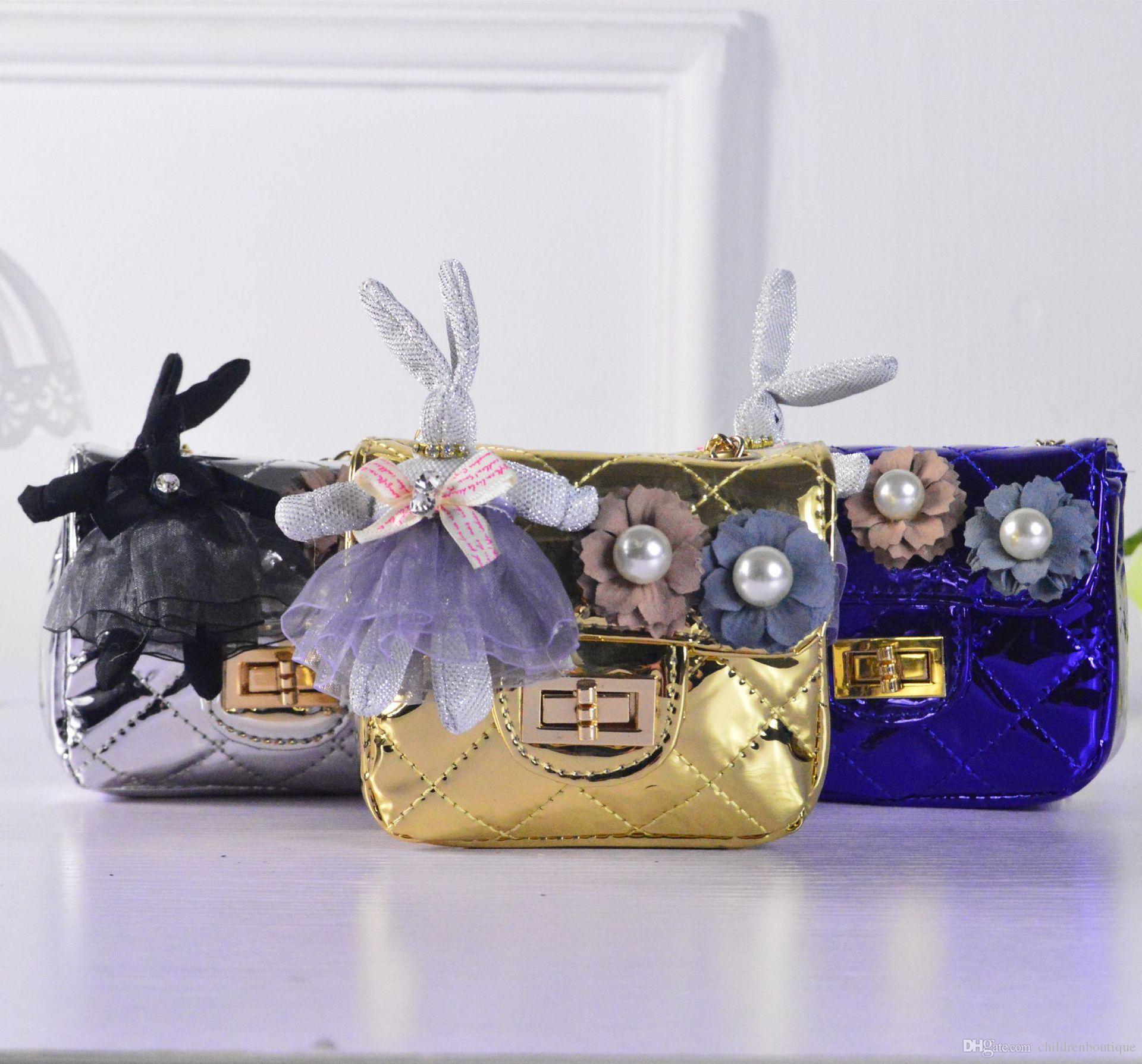Großhandel Kinder Handtasche Modedesigner Mini Geldbörse ...