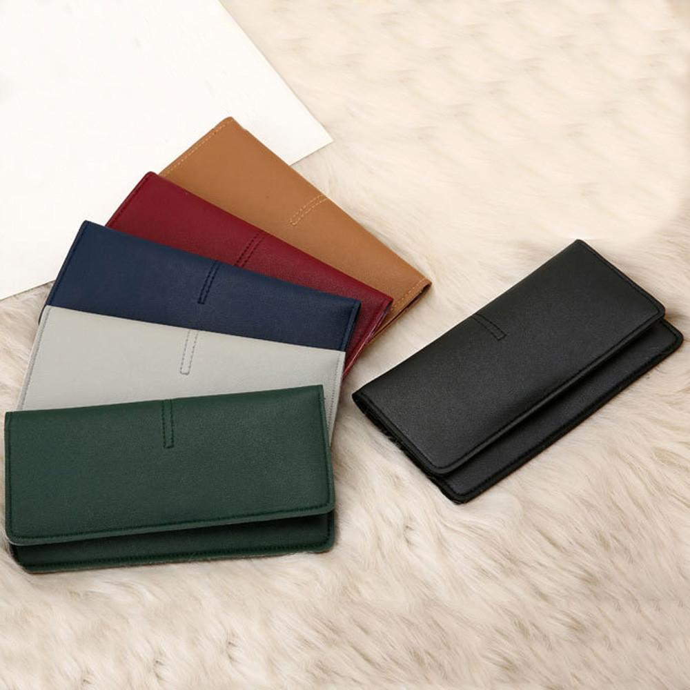 Portemonnee Billfold.Xiniu Women S Wallet Fashion Simple Hasp Long Wallet Billfold Purse