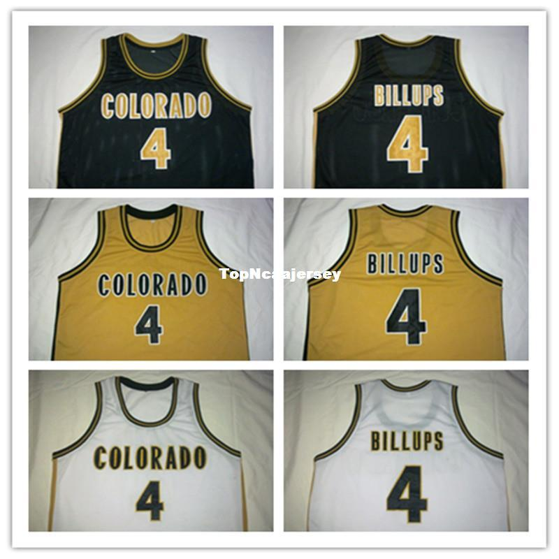 2dde9c4c8 2019 Cheap  4 Chauncey Billups Colorado Buffaloes College Basketball Jerseys  Retro Top Stitched McDonald ALL AMERICAN Jersey From Topncaajersey