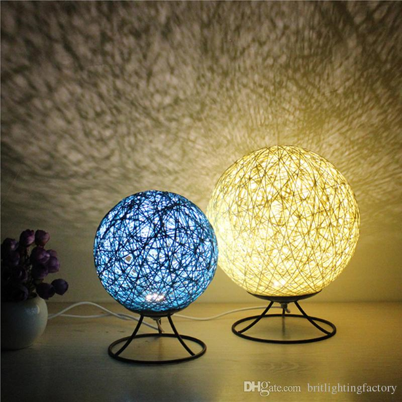 2018 Warm Romantic Led Small Desk Light Creative Mood Table Lamp Simple Bedside Bedroom Dormitory Modern From