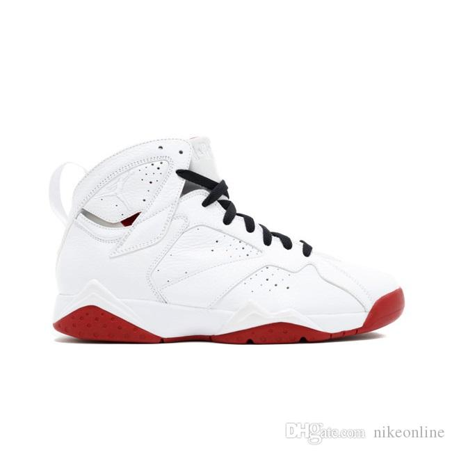 352f17deae3 Cheap Men Jumpman 7 VII Basketball Shoes 7s HOF Fadeaway Red ...