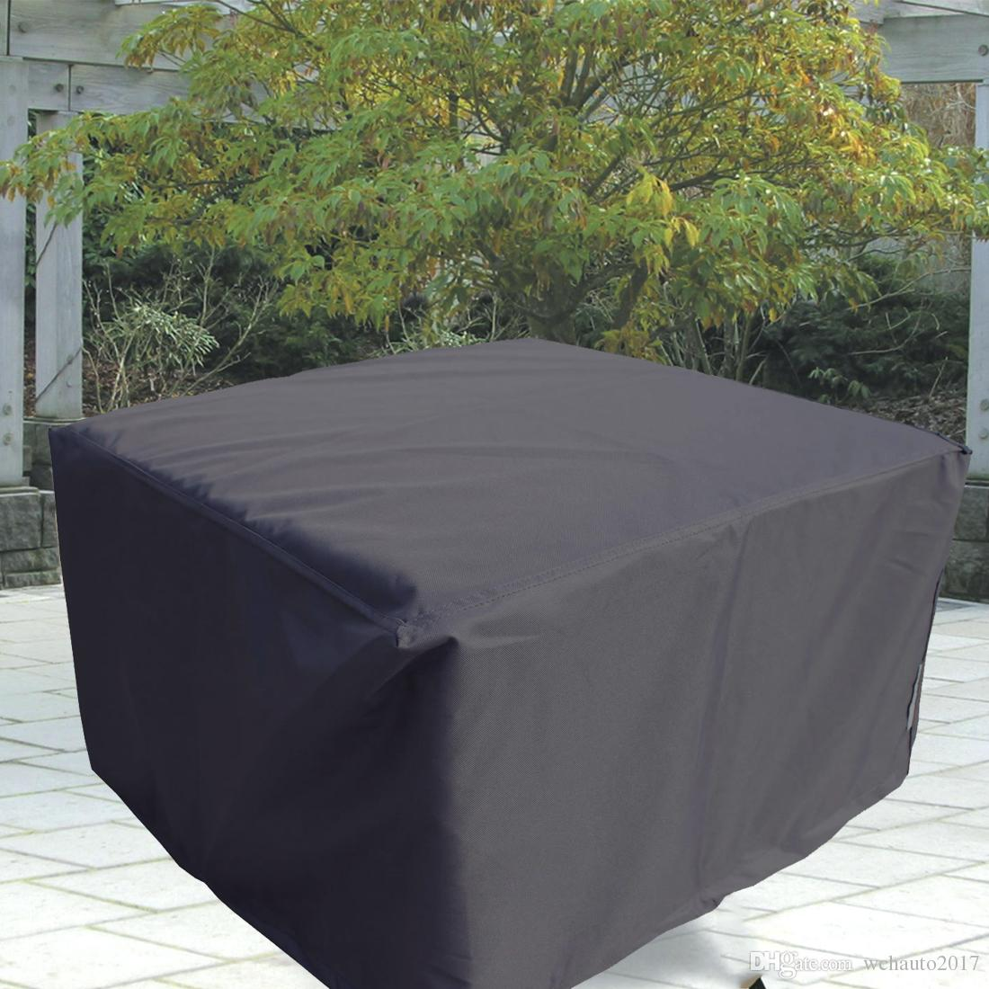 2019 135x135x75cm Patio Table Cover Square Waterproof Outdoor Dust Proof  53inTable Desk Furniture Covers With Storage Bags For Garden Indoor From ... - 2019 135x135x75cm Patio Table Cover Square Waterproof Outdoor Dust