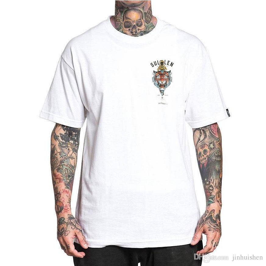 2018 Best T Shirts Men S Javan T Shirt White Elvin Yong Crewneck