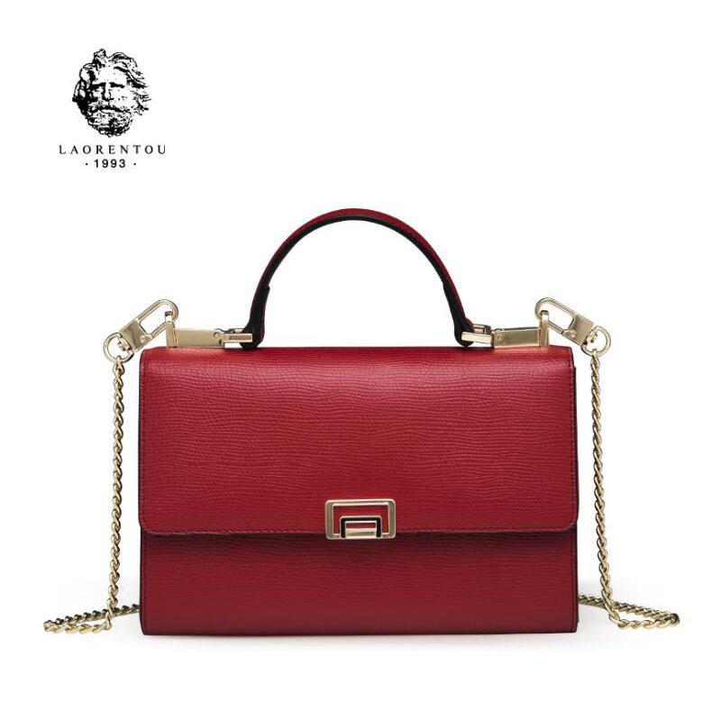 LAORENTOU 2018 New Women Leather Bag Luxury Handbags Women Designer ... ed6b424af2e8f