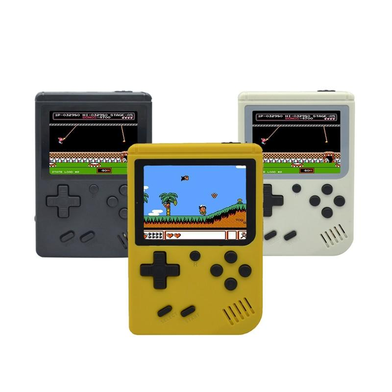 2018 New Retro Mini Handheld Game Consoles 168 Classic Games 3.0inch Color Video Games Portable Game Player for Best Xmas Gift For Kids