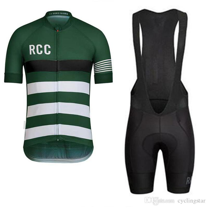 2018 RCC Cycling Club PRO TEAM JERSEY short sleeve road MTB cycling wear breathable bicycle clothes cycling gear high quality D0801