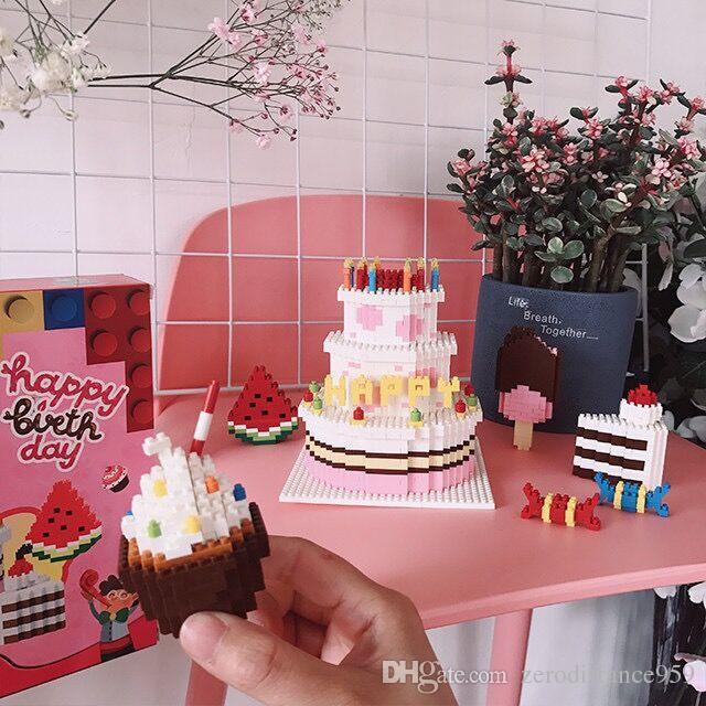 Hot Selling Creative Birthday Cake Doll Machine Street Machine Small