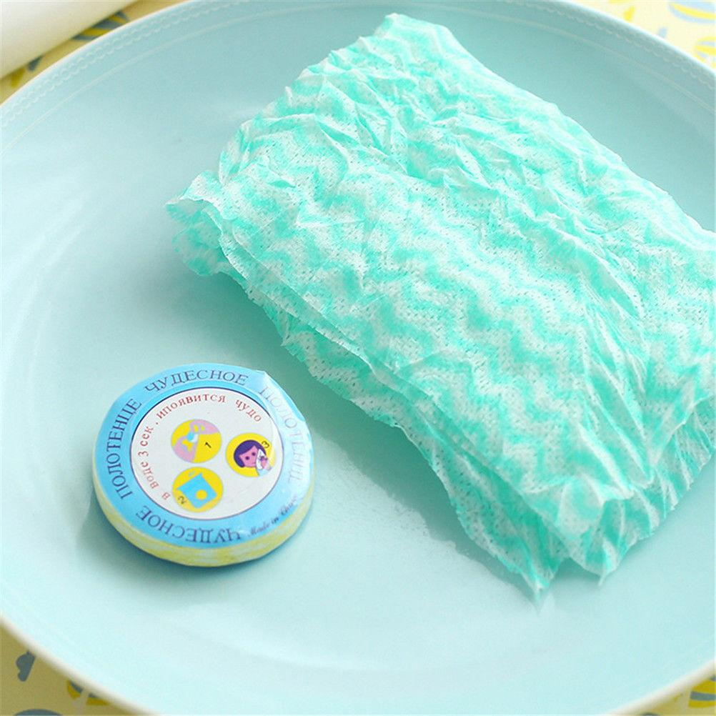Portable Multicolor Travel Towel Compress Towels Nonwoven Compressed ...
