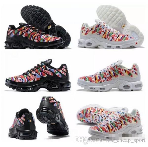 131ae830cf8 2018 New World Cup International Flag NIC QS TN Plus Running Shoes ...