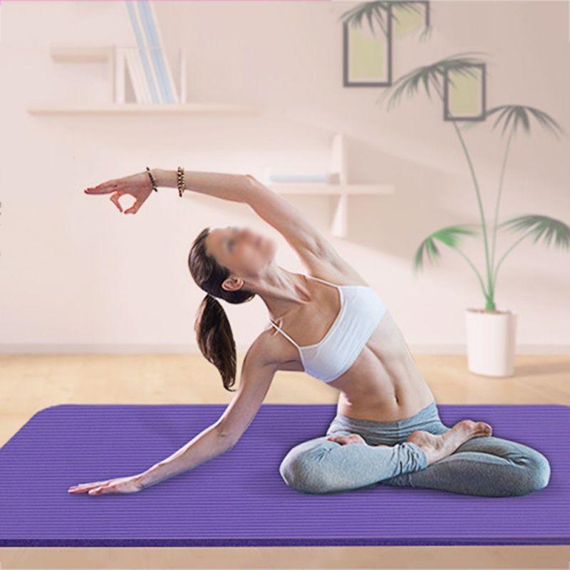 Grosshandel 4 Farben Yoga Sport Fitness Ubung Rutschfeste Falten Eva