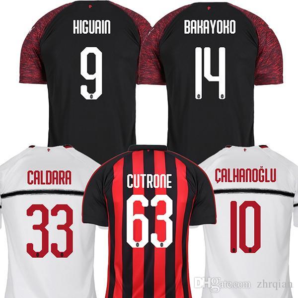 Maillot Extérieur AC Milan ANDREA CONTI