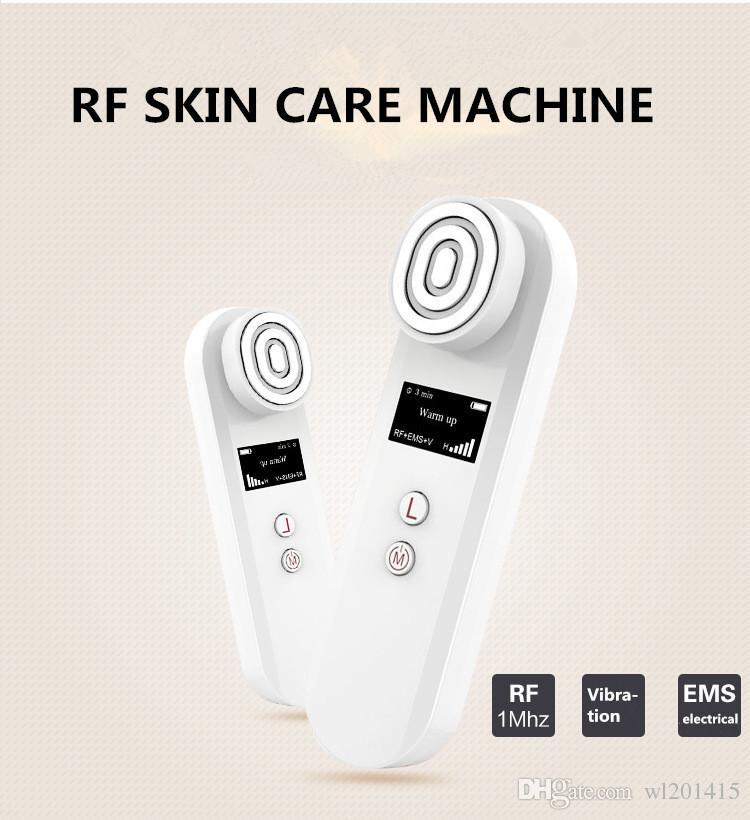 RF EMS Titreşim Thermage Masaj Radyo Frekansı ekipmanları Kırışıklık Kaldırma Cilt gençleştirme Yüz Kaldırma Güzellik makinesi UP010