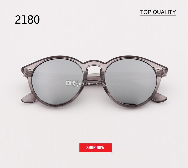 3667caf57c4 2019 Top Quality Luxury Sunglasses Women Flash Mirror PINK Brand Ladies  Male Sun Glasses Classic Small Round Oculos 2180 Gafas With Box Heart  Shaped ...